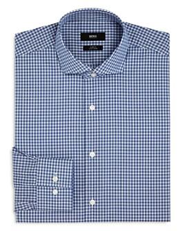 BOSS - Jason Plaid Slim Fit Dress Shirt