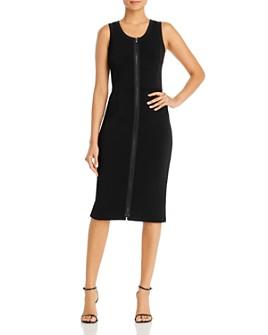 Armani - Sleeveless Zip Sheath Dress