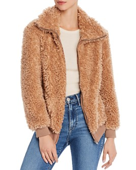 BB DAKOTA - Teddy Or Not Faux-Fur Jacket