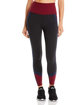Beyond Yoga - True Color-Block High-Rise Leggings