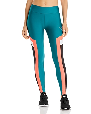 PUMA CHASE HIGH-RISE COLOR-BLOCK LEGGINGS,59522534