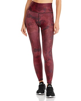 Terez - Striped Camo Leggings