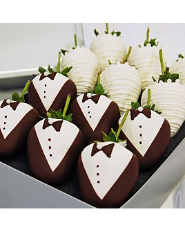 Chocolate Covered Company - Wedding Belgian Chocolate Covered Strawberries