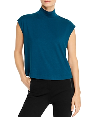 Eileen Fisher Tops MOCK-NECK BOXY TOP