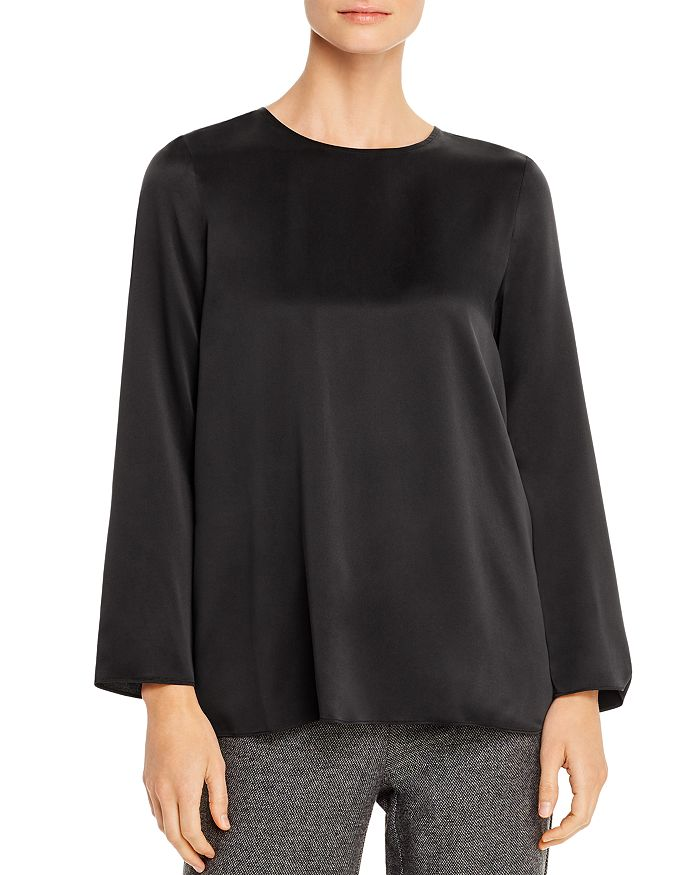 Eileen Fisher - Silk Boxy Top - 100% Exclusive