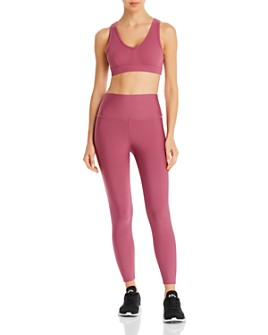 Alo Yoga - Alo Yoga Togetherness Sports Bra & Airlift Leggings