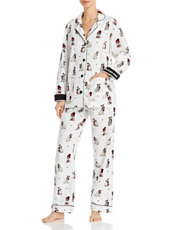 PJ Salvage - Printed Flannel Pajama Set