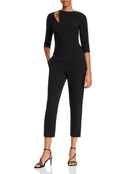 Black Halo - Hope Cutout Detail Jumpsuit - 100% Exclusive