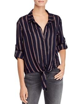 Bella Dahl - Striped Tie-Front Shirt
