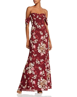 Wayf Rachel Strapless Maxi Dress