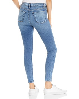 Hudson - Barbara High-Rise Super Skinny Ankle Jeans in Recharge