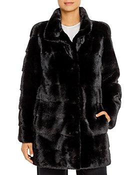 Maximilian Furs - Mink Fur Coat