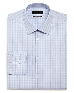 The Men\\\'s Store Plaid Stretch Regular Fit Dress Shirt