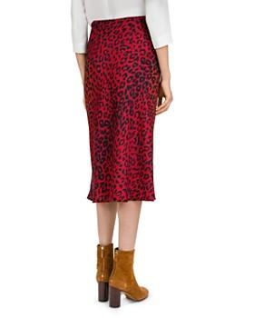 Gerard Darel - Leopard Print Midi Skirt