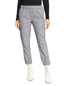 Sanctuary - Trooper Cargo Glen Plaid Jogger Pants