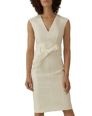 KAREN MILLEN - Tie-Waist Sheath Dress