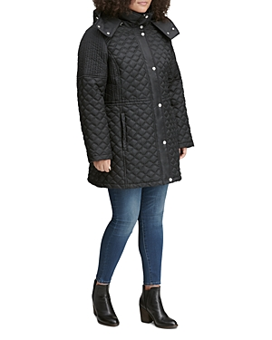 Marc New York Plus Tribeca Quilted Anorak Jacket
