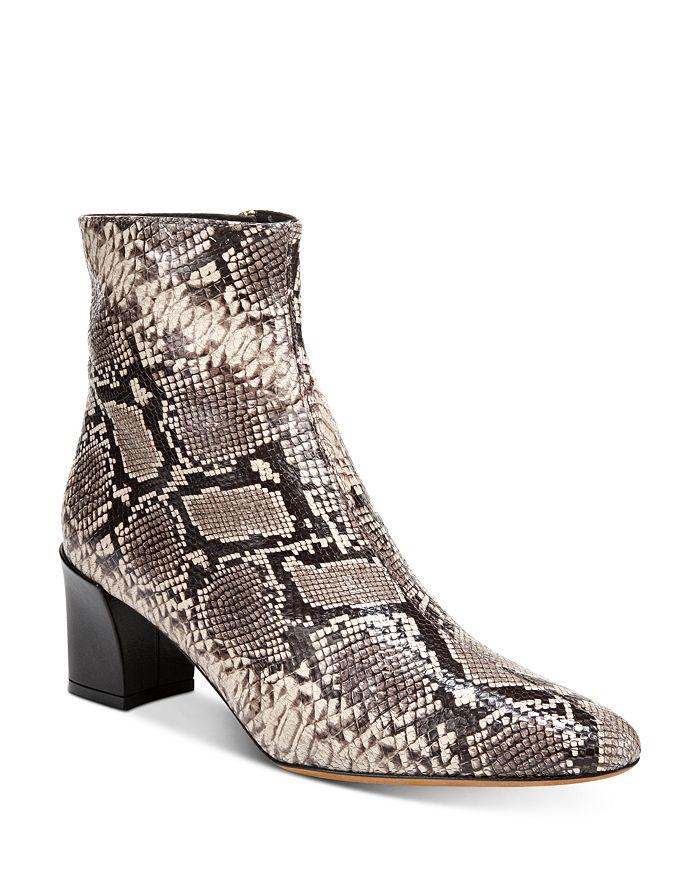 Vince Boots WOMEN'S LANICA BLOCK HEEL BOOTIES