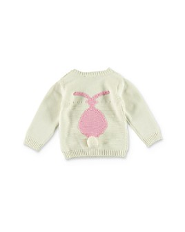 Stella McCartney - Girls' Pom-Pom Bunny Sweater - Baby