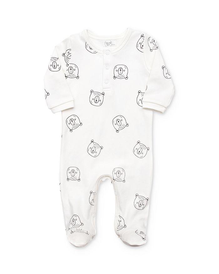 Tun Tun - Boys' Bear Print Footie - Baby