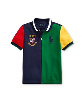 Ralph Lauren - Boys' Color-Block Polo Shirt - Little Kid