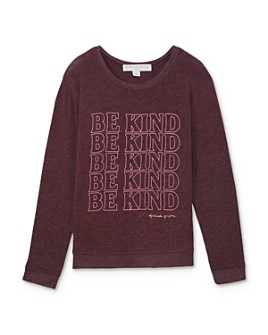 Spiritual Gangster - Girls' Be Kind Sweatshirt - Big Kid