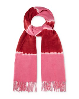 Charlotte Simone - Betty Tie-Dye Wool Scarf