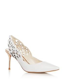Sophia Webster - Women's Angelo Slingback Pointed-Toe Pumps
