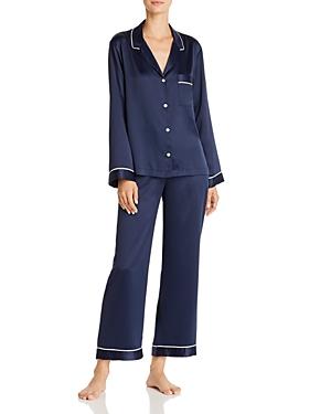 Natori Feathers Satin Pajama Set-Women