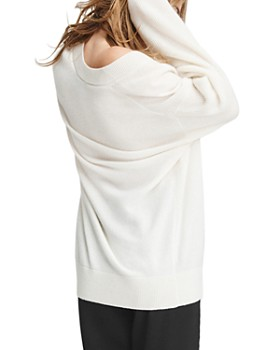 rag & bone - Logan Oversized Cashmere V-Neck Sweater
