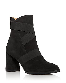 Andre Assous - Women's Porter Strappy Pointed-Toe Block-Heel Booties