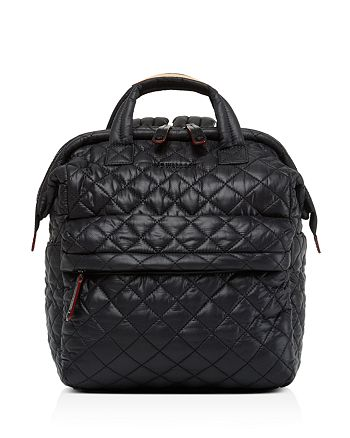 MZ WALLACE - Small Top Handle Backpack