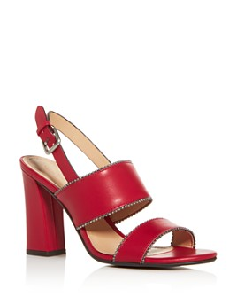 COACH - Women's Rylie High Block-Heel Sandals