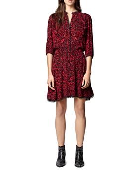 Zadig & Voltaire - Remo Leopard-Printed Mini Dress