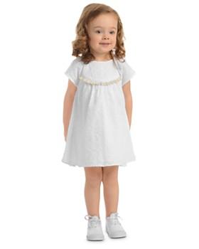 Pippa & Julie - Girls' Eyelet Dress - Little Kid