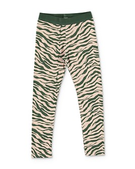 Stella McCartney - Girls' Zebra Print Leggings - Big Kid
