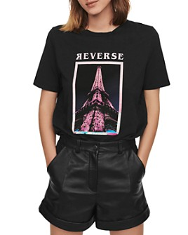 Maje - Eiffel Tower Tee