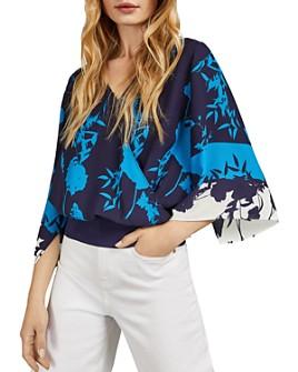 Ted Baker - Margiel Bluebell Kimono-Sleeve Top