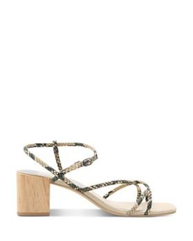 Dolce Vita - Women's Zayla Wooden Block Heel Sandals