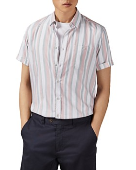 Ted Baker - Fredee Striped Slim Fit Shirt