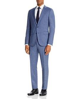 BOSS - Novan/Ben Tic Weave Extra Slim Fit Suit