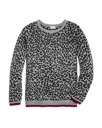 Splendid - Girls' Leopard Print Sweater - Big Kid