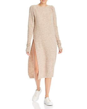 Notes du Nord - Meg Ribbed Knit Midi Dress