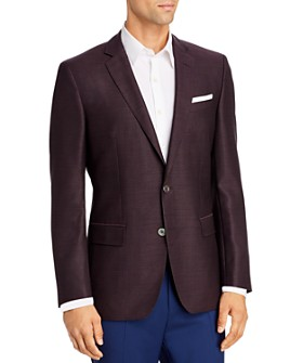 BOSS - Hutsons Mélange Basket-Weave Slim Fit Sport Coat