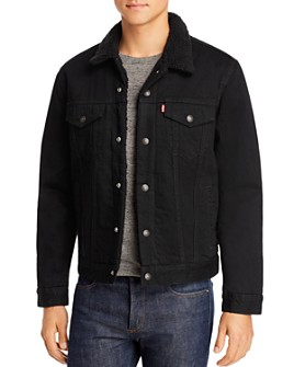 Levi's - Sherpa-Lined Regular Fit Denim Jacket in Berk