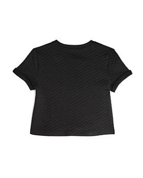 AQUA - Girls' Quilted Short Sleeve Top, Big Kid - 100% Exclusive