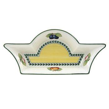 "Villeroy & Boch - ""French Garden"" Rectangular Bowl, Small"