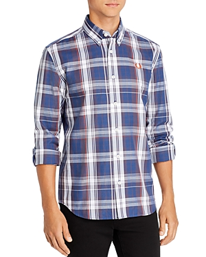 Fred Perry T-shirts TWILL CHECK CLASSIC FIT SHIRT