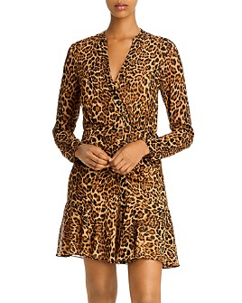 Jay Godfrey - Kirk Leopard Print Mini Dress