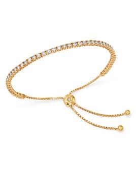 Bloomingdale's - Diamond Tennis Bolo Bracelet in 14K Yellow Gold, 2.5 ct. t.w. - 100% Exclusive